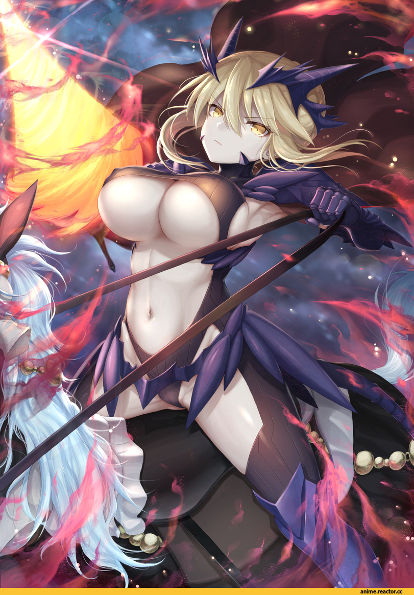 Anime,Аниме,Mashu 003,Anime Art,Аниме арт, Аниме-арт,Lancer Artoria,Fate/Grand Order,Fate Grand Order, FGO,Fate (series),Fate (srs),Kyonyuu,Anime Ero,Взрослые Няшки
