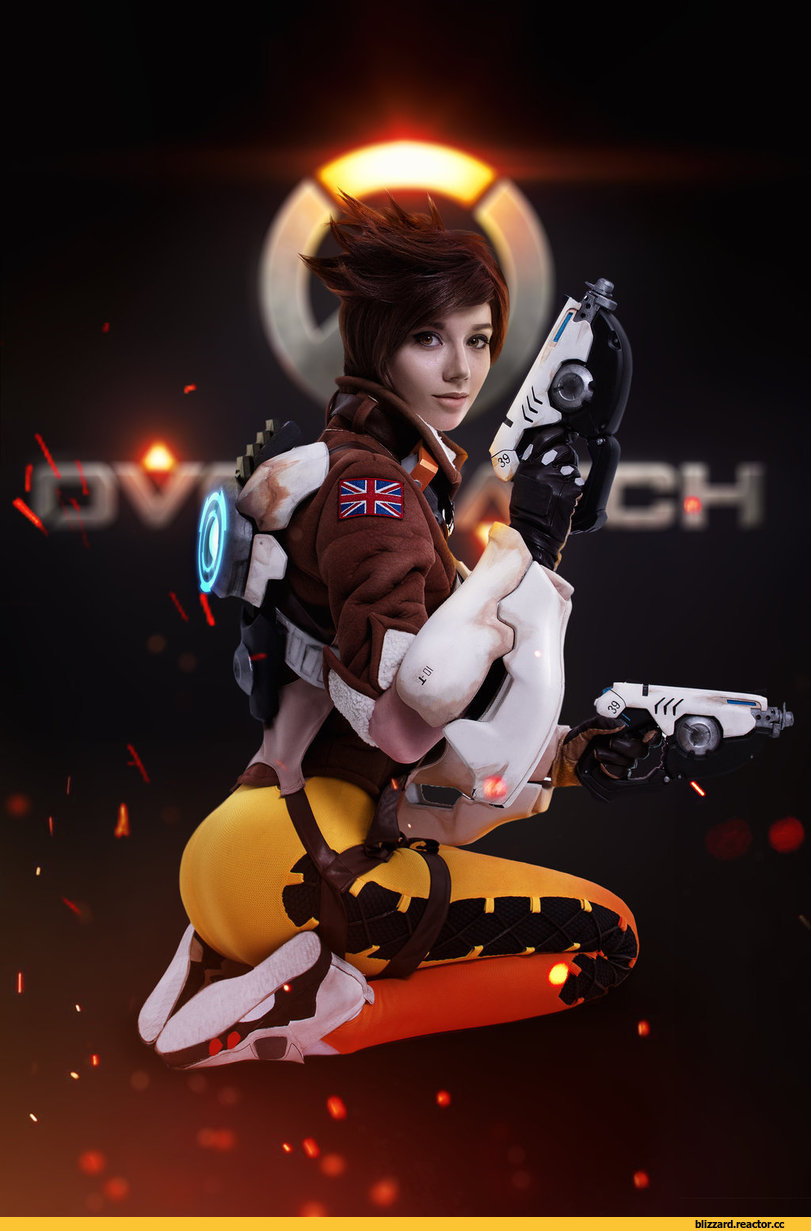 Hoteshi,Tracer,Overwatch,Blizzard,Blizzard Entertainment,фэндомы,Overwatch Cosplay,Blizzard Cosplay