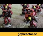 40k History:  Blood Angels,Games,,More 40k History:  http://www.miniwargaming.com/show/40k-history  Learn how Sanguinius and his sons become the Blood Angels.  Music by Kevin MacLeod
