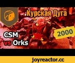 Курская Дуга - 04 - CSM vs Orks - 2000 pts,Games,,Ростер орков:  1 Big Mek (HQ) @ 85 Pts      Choppa; Kustom Force Field  1 Big Mek (HQ) @ 85 Pts      Choppa; Kustom Force Field  19 Ork Boyz (Troops) @ 160 Pts      Choppas; Sluggas       1 Nob @ [46] Pts           Power Klaw; Slugga; Bosspole  18 Or