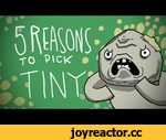 5 REASONS TO PICK TINY,Games,,Basically a video about throwing people. BECAUSE THAT´S TINY.  Leave suggestions and if you´d like to help, fav + share the video! also, I´m dopatwo on twitter and on facebook!  Russian Subs by  Александр Ильин. Thanks mate!  facebook: https://www.facebook.com/dopatwo t
