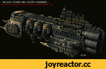 "+ BLACK TEMPLARS LIGHT CRUISER + ""ETERNAL CRUSADER"" ESCORT/RAPID STRIKE VESSEL - AC69"