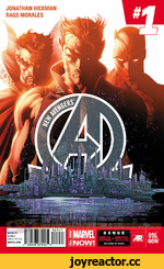 JONATHAN HICKMAN RAGS MORALES RATED T $3.99:JS DIRECT EDITION MARVEL.COM r 59606^07902 S