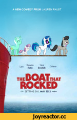 "A NEW COMEDY FROM LAUREN FAUST theDOATthat ROCKED - V SETTING SAIL MAY 2012 , Sweetie Vinyl "" . • Lyra ""h o 1 l Octavia y Be e Scratch"