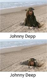 V Johnny Depp Johnny Deep