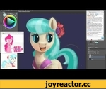 Coco Pommel (Real Time 30 Minute Drawing),Entertainment,,For the first time, here's a real time drawing instead of a time-lapse. This is for those who always wanted to see how I do things in real time instead at 7000% speed.  DA: