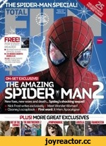 ON-SET EXCLUSIVE! THE AMAZING SPIDER* MAN New foes, new woes and death... Spider's shocking sequel! Nick Frost writes exclusively Meet Wonder Woman!§ Clooneys scrapbook First word: X-Men: Apocalypse TOTAL FOPEVt PEADEH