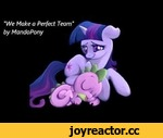 "【HD】We Make a Perfect Team -- Twilight and Spike [original song],Music,,DOWNLOAD LINK: http://www.andrewstein-online.com/mlp/WeMakeaPerfectTeam.mp3  Right click and select ""save as"" or ""save target/link as"" to keep it. :)  A new song I composed for Spike and Twilight -- because they do, after all, m"