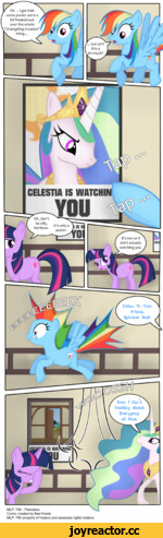 MLP: FiM - Peekaboo Comic created by Bad Faerie MLP: FiM property of Hasbro and