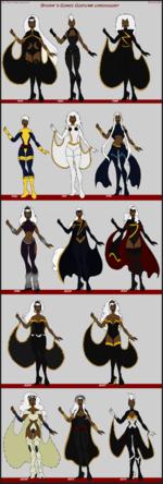 http://femmes-fatales.deviantart.com/ Storm 's Comic Costumb chronology Commissions Open