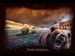 """Медведь на Красной площади с """"калашниковым""""...,People,,Пропаганда по заказу Белого Дома. Почему многие американцы уверены, что русские на работу ходят с автоматом Калашникова, а по Красной площади гуляют медведи;"""