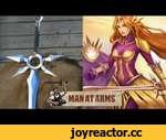 Leona's Zenith Blade (League of Legends) - MAN AT ARMS,Games,,Every other Monday, master swordsmith Tony Swatton forges your favorite weapons from video games, movies, and television. This week, he tackles Leona's Zenith Blade from League of Legends. Get your Awe Me or Man At Arms Swag:
