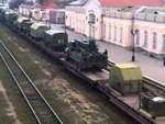 """Россия готова сбивать """"самолеты дружбы"""" в Крыму,News,,В Крым через Керченскую паромную переправу составом из 25 вагонов доставлен зенитно-ракетный дивизион С-300 в составе 4-х батарей. С ним прибыла инженерная техника -- 4 танковых тягача, подвижные дизель-генераторы, автоцистерны и 4 автомобиля УАЗ"""