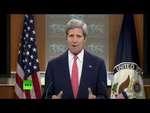 Госсекретарь США Джон Керри назвал телеканал RT «рупором пропаганды»,News,,Госсекретарь США Джон Керри в ходе пресс-конференции 24 апреля заявил, что российские власти прибегли к масштабной государственной пропаганде в связи с ситуацией на Украине. И в частности, ее ведет телеканал RT.  Подписывайте