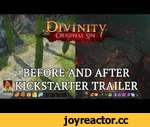 Divinity: Original Sin - Before and After Kickstarter Trailer,Games,,Divinity: Original Sin on Steam Early Access: http://steamcommunity.com/app/230230  Exactly one year ago, we celebrated the end of a million-dollar crowdfunding campaign in support of its innovative, old-school-inspired RPG,