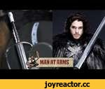 Jon Snow's Longclaw (Game of Thrones) - MAN AT ARMS,Tech,,Which weapon will be next? ► Subscribe! http://bit.ly/AWEsub  Every other Monday, master swordsmith Tony Swatton forges your favorite weapons from video games, movies, and television. This week, he recreates Jon Snow's sword, Longclaw, from G