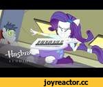 """MLP: Equestria Girls - Rainbow Rocks EXCLUSIVE Short - """"Player Piano"""",Entertainment,,Rarity gets help moving her grand piano across campus from some unlikely students. Subscribe to HasbroStudiosShorts: http://j.mp/LkHWOx My Little Pony: Equestria Girls: http://j.mp/1jJry77"""