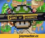 Video Game of Thrones: Super Mario World,Games,,Mario always pays his debts... With Dragon Coins! This is the show open for Game of Thrones... if it were set in the World of Super Mario! Check out the side-by-side comparison: http://youtu.be/a1KjPb_cViQ 8 Bit Song of Fire and Ice by Floating