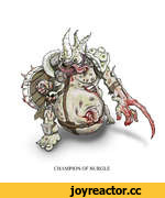 CHAMPION OF NURGLE