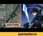 Kirito's Elucidator (Sword Art Online) - MAN AT ARMS,Tech,,Which weapon will be next? ► Subscribe! http://bit.ly/AWEsub Every other Monday, master swordsmith Tony Swatton forges your favorite weapons from video games, movies, and television. This week, he recreates Kirito's Elucidator sword from Sw