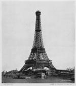 фотографии стройки эйфелевой башни