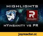 PR vs mYinsanity Highlights joinDOTA League Europe S3 Dota 2,Games,,11.08.2014 Power Rangers vs mYinsanity Highlights Dota 2 joinDOTA League Europe Season 3 Social: Subscribe us on YouTube: ➜ http://bit.ly/PotatoGamingDota2  Like us on FaceBook: ➜ https://www.facebook.com/PotatoesGamingDota2  Foll