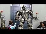 [HD] HILARIOUS Transformers Megatron Making Fun of Guests - Interactive Talking Transformers,People,,[HD] HILARIOUS and Angry Talking Transformers - Megatron POKING fun at guests. Kid defending himself after Megatron poked fun at him. Interactive Talking Transformers at Universal Studios Hollywood.