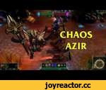 Chaos Azir LoL Custom Skin ShowCase,Games,,League of Legends Chaos Azir Custom Skin. ► Pre-Order/Purchase Latest Games Online: ► https://www.g2a.com/r/skinshowcase Skin Name: Chaos Azir Skin Author: Existor http://leaguecraft.com/skins/50293-chaos-azir-black-legion-style.xhtml Download latest vers