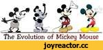 The Evolution of Mickeu Mouse