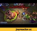 Heroes of the Storm. Arthas oneshots Tychus.,Games,,Poor Tychus wanted to live a little longer. But evil Dragon and Arthas don't thinks so.