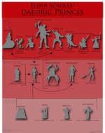Elder Scrolls: daedric Princes MEHRUNES DAC.ON Sanguine Clavicus vile <and boras) Vaermii God or Mi'RDi k God or (jod or and deceit Pestilence and Famine ■ of God of Domination God of Destruction -debauchery AND ClIANGI God of Wishes. Bargains, and Nigi i i mares trickery MERIDIA 4 I