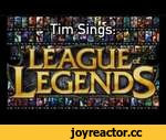The Ballad of League of Legends,Games,,The Ballad of League of Legends; or 123 champs in 120 seconds.  Written, performed, and edited by: Tim Leftwich  Lyrics:  Vladimir, Udyr and, Tryndamere,  Viktor, Kayle, And Veigar.  Nocturne, Irelia, Cassiopeia,  Karthus, Vel'Koz, and Alistar.  There's So