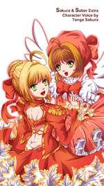 Sakura & Saber Extra Character Voice by Tange Sakura
