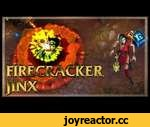 Firecracker Jinx Skin Spotlight,Games,,Firecracker Jinx Skin Spotlight on League of Legends PBE Server!Price 1350RP! ➲WTFast,lower your ping and lag! - http://bit.ly/WTFastLoL ►840 RP GIVEAWAY AT THE END OF THIS VIDEO! ●LoLeaks App● (Stay up to date with uploads) ►Chrome - http://bit.ly/AppChrome ►M