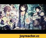 AMV • It's All In Your Hands [ Level Up 2015 ],Entertainment,,Аниме: Kamisama no Memo-chou, Log Horizon S1/S2, No Game No Life, Sword Art Online, Akami Ga Kill Музыка: Neurotech - Atlas
