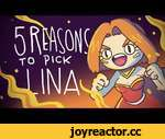 5 REASONS TO PICK LINA,Games,,A very precise and realistic video about Lina. Watch it if you wish to become a true pro. Thanks to my patrons and reddit! Stuff used: Kirby and King dedede theme Dog blood - new order and sidneyturner.com for sfx