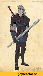 "GERALT OF RIVIA - IN THE ""DISNEY"" STYLE YA NN IDAV ROSA RT. COM"