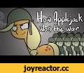 How Applejack Won the War - Animation,Film & Animation,,Original Song by Sherclop Pones:  https://www.youtube.com/watch?v=PYzRbdHvb3s Corpse Run Comics (my dinky comic strip): http://corpseruncomics.com/  A little over a year ago I heard this song for the first time and instantly fell in love with
