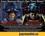 """Games Workshop Doesn't Own """"Space Marine \mie\n yStnrship Troopet'F I^i9§S^^rtwork 198 Jj» 1 ' Space""""Marine from * arhammer:40K: Spacev Marine ^S(gam^and'artr2012)2^ ^ Robert Hcinlcin first popularized the term """"Space Marine"""" in 1939's Misfit, and used it again in 1941 with The Long Watch. His 1"""
