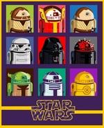 Star Wars-персонажи в другом дизайне