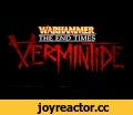 Warhammer: End Times Vermintide - Witch Hunter Action Reel,Gaming,Warhammer: End Times - Vermintide,Gaming,Take a look at gameplay from one of the five heroes playable in Warhammer: End Times - Vermintide: the Witch Hunter. Victor Saltzpyre is a lethal and deadly marksman with melee skills to