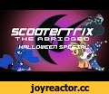 Scootertrix the Abridged: Halloween Special,Comedy,MLP,Nightmare Night,Halloween,My Little Pony: Friendship Is Magic (TV Program),Ponies,MLP Abridged,October 31,Lunar Slandar,Luna,Princess Luna,Abridgement,Luna goes to Ponyville to investigate what Nightmare Night is all about. Special thanks to