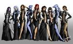 Девушки из Mass Effect