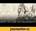 "WARHAMMER 40k Speed-Inking full process (how to ink Environment) ep. 09,Gaming,,Lasy part of speed-Inking tutorial video ""How to ink..."" I created for the process of digitally inking Warhammer poster in Adobe Photoshop with a Wacom Cintiq 13hd.  More information here:  http://anomaly-world.com/"