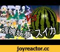 Konpaku Youmu VS Watermelon 【Touhou MMD】  魂魄妖夢 VS スイカ,Entertainment,Watermelon (Ingredient),Touhou Project (Video Game Series),Food (TV Genre),MikuMikuDance,MMD,Konpaku Youmu,Anime,気が付いたら夏が終わっていた...(白目)  Watermelon for MMD →https://bowlroll.net/file/52023 Pass→suika  Ver.niconico→http://www.nicovide