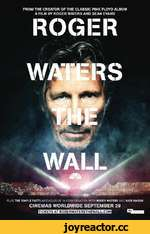 "Entertainment FROM THE CREATOR OF THE CLASSIC PINK FLOYD ALBUM A FILM BY ROGER WATERS AND SEAN EVANS Li i , "";£b jTa ""*>■£*, Ht*»--.. _ »>' J rttrfri*fc • т - - 1 и II"