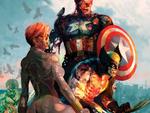 Героия Marvel в обликах зомби