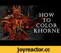WARHAMMER 40k. How to color Khorne.,Gaming,inker,adobe photoshop,drawing,painting,artist,speed,drawings,chaos,anomaly world,egor klyuchnyk,inking,warhammer 40000,time lapse,art,warhammer fantasy,how to,coloring,color,Digital coloring Khorne for Warhammer poster in Adobe Photoshop with a Wacom
