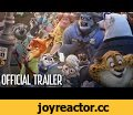Zootopia Official US Trailer #2,Film & Animation,zootopia,trailer,new trailer,disney,disney animation,walt disney animation studios,walt disney studios,hopps,nick,jason bateman,ginnifer goodwin,animated,animation,funny,comedy,sloth,star wars,preview,frozen,big hero 6,tangled,march,shakira,try