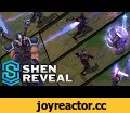 Shen Update - Eye of Twilight - Champion Reveal,Gaming,Shen,Eye,Twilight,Eye of Twilight,Champion Reveal,League of Legends,Passive: Ki Barrier  After casting an ability, Shen gains a temporary shield. The shield has a relatively long cooldown which is significantly reduced if one of his abilities
